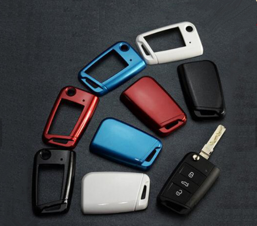 Wholesale four color ABS hard plastic car key cover injection mold develop