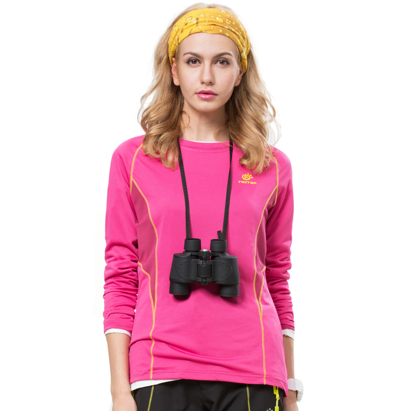 2015 Outdoors brand women t shirt fast dry long sleeve dry fit stand collar autumn tshirts women tops 40# free shipping