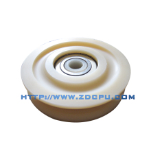 America style plastic roller for kitchen soft closing drawer