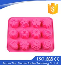 food grade silicone of chocolate model of cake mold,cake mould