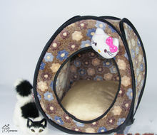 cloth material pet bedding dog tent bed pet,outdoor pet bed