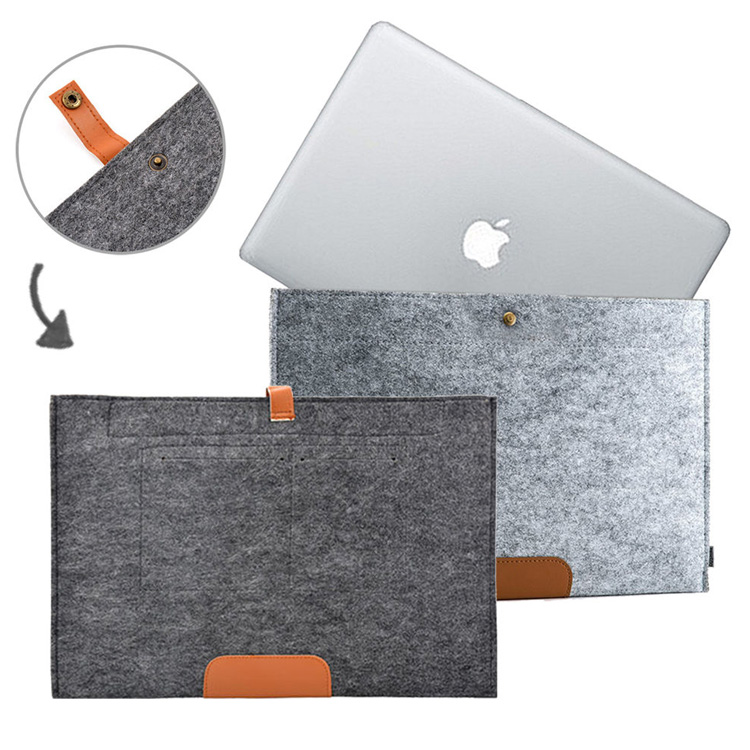 High quality Felt Sleeve Carrying bag Ultrabook Laptop bag for Apple Macbook 13.3 inch