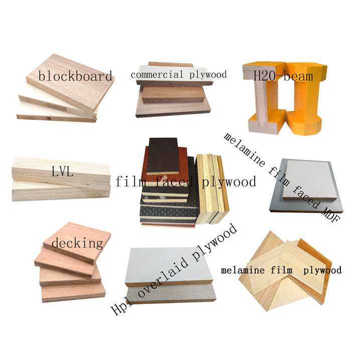 MDO medium density plywood for construction shuttering