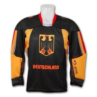 kings breathable children hockey jersey