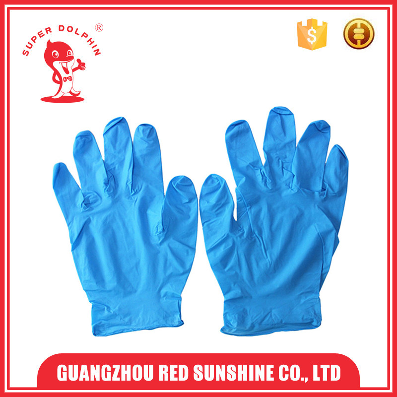 9 Inch Disposable Non Sterile Medical Nitrile Gloves