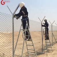 ISO certificate cheap PVC coated galvanized chain link fence