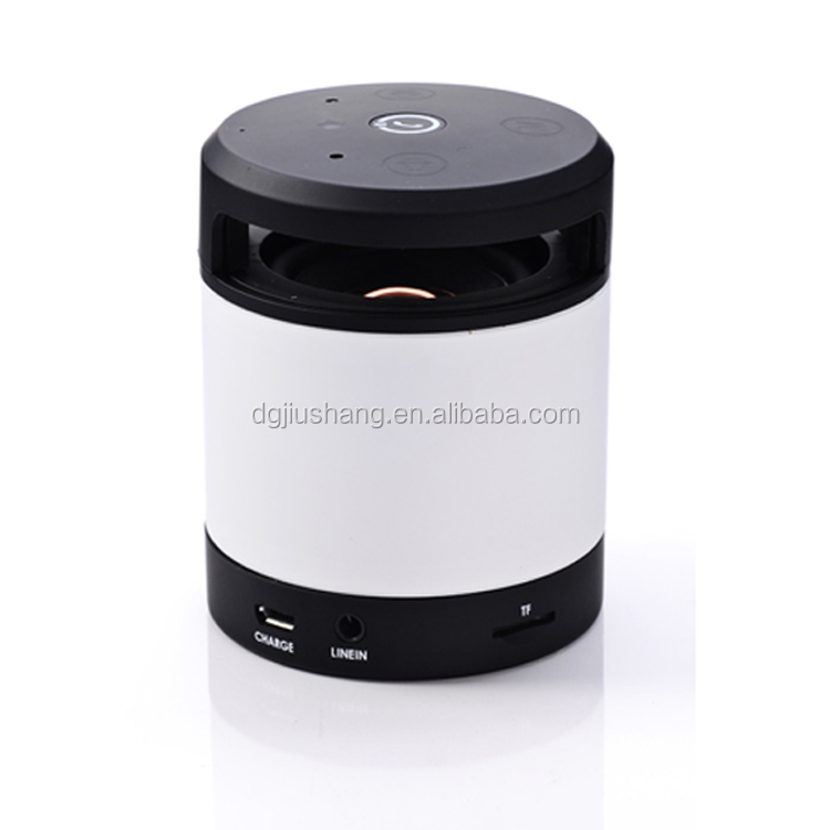 Metal mini speaker for company giveaways,motion sensor mini speaker D6 speaker