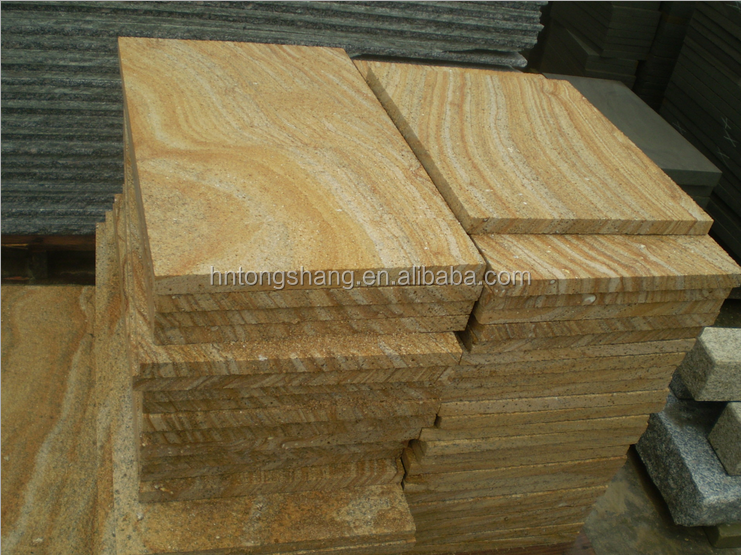 teak wood sandstone,yellow wooden vein sandstone a cheap prices
