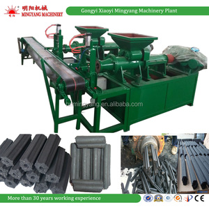 Factory price hot selling wood sawdust corn cob charcoal briquette machine