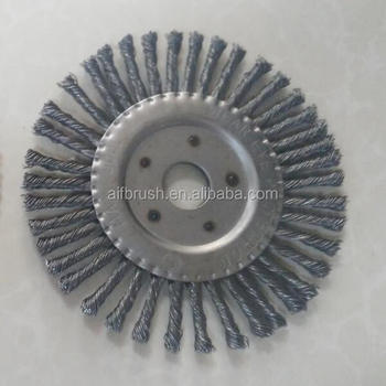 Classic 6 inch stainless stringer wire wheel brush