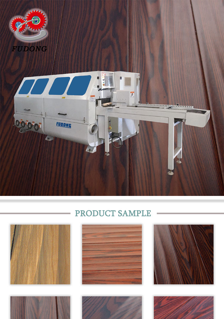Multi-functional automatic handscraped woodworking machine