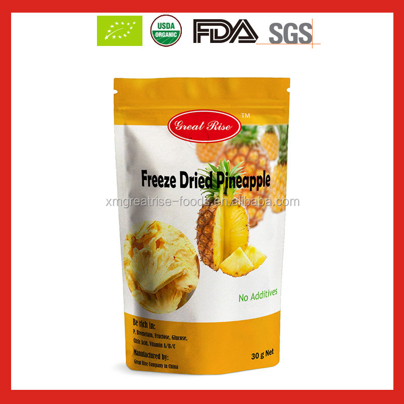 100% Pure Freeze Dried Pineapple and Freeze Dried Pineapple Powder with good price Wholesale