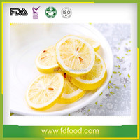Dried Style and Bulk Packaging Fruit Freeze Dried Lemon Slice