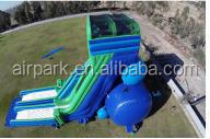 Commercial giant high speed inflatable water slide for sale