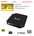QINTEX T9S Plus Amlogic S905 Quad Core 4K Android 5.1 TV Box with 2GB RAM 16GB google play store app download android tv box