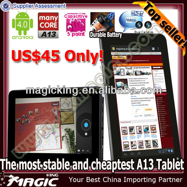 7 inch tablet pc with 3g 2mp camera
