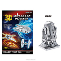 JS2709764 Wholesales hot toy 3d diy metallic puzzle famous building model for kids and adults