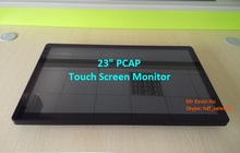 "HDF 23"" touchscreen monitor ips / 3M ELO compatible pcap multi touch screen display"