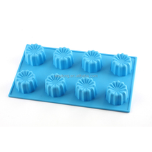 Cheap hot sale top quality christmas cake silicone baking mould/plastic cake mould/the cake mould in circle