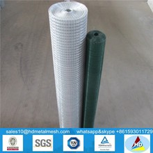 pvc coated rabbit cage wire galvanized welded wire mesh cheap