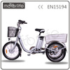 MOTORLIFE/OEM three wheel electric bicycle for disabled