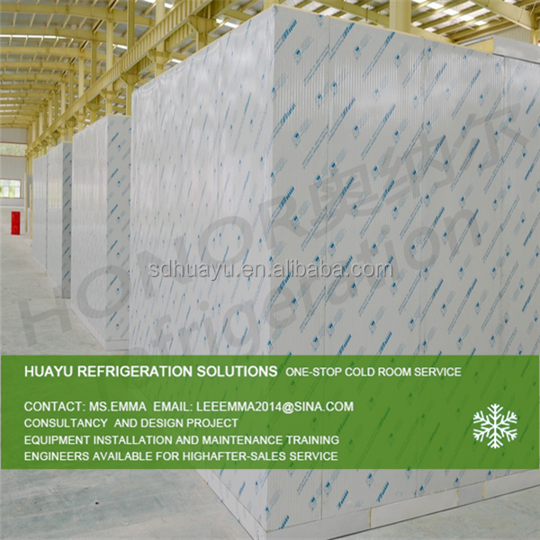 CE certificate Meat/fish cold storage room price
