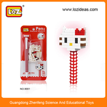 2014 Christmas gift educational jugetes block pen