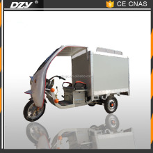 new electric cargo rickshaw on sale for mobile food shop Use For and Closed Body Type tricycle for fast meals