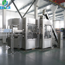 Automatic Carbonated drink filling line 3 in1/ soft drink mixing machine