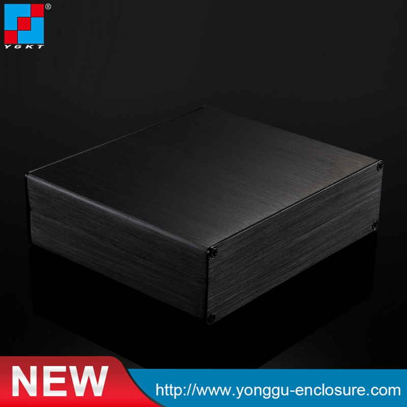Small aluminum extruded enclosures for electronics
