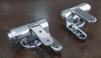 Zinc SS stainless steel soft closing toilet seat hinge