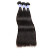 Grade 9a Virgin Angels Hair Weaves Pictures Peruvian Straight Hair Bundles With Permanent Hair Color
