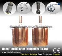 Luxury red copper beer machine mixes for sale 300l