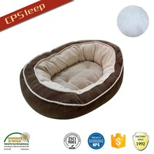 Hot selling durable Cuddle polyester fiber dog bed