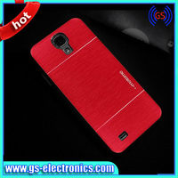 China manufacturer PC aluminum brushed cell phone case for Samsung galaxy S4 phone case for S4
