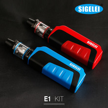 Elego Best Vaporizer E-cigarette 0.2ohm Coil 2ml SM2-H Tank 80W Sigelei E1 Kit from alibaba