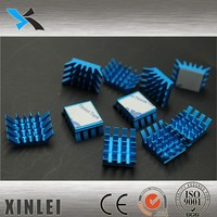 computer heatsink , aluminum profiles radiator parts,cpu cooling parts