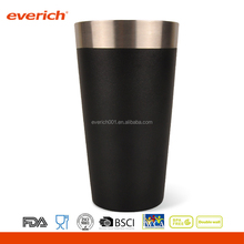 16oz Everich Double Walled Stainless Steel Vacuum Insulated Pint, Beer Glass, Tumbler