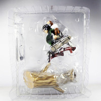 "Japanese anime Attack on Titan Shingeki no Kyojin Levi Rivuai Rivaille 28cm/11"" Toy Action Figures"