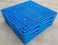Heavy Duty Stacking Storage Plastic Rice Bag Pallet for warehouse stacking
