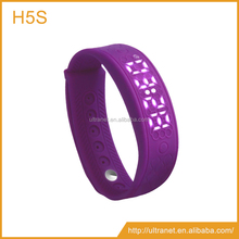 heart rate monitor android smart wrist watch silicone fitness watches pedometer