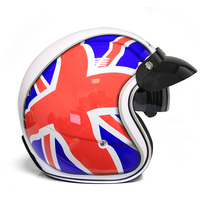 half face motorycle helmet ABS material safty helmet with double