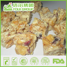 Wholesale Fruit Candy Bar Crunch Energy Giving Food Yummy and Roasted Nut Hot Sale Cheap Price Good Quality