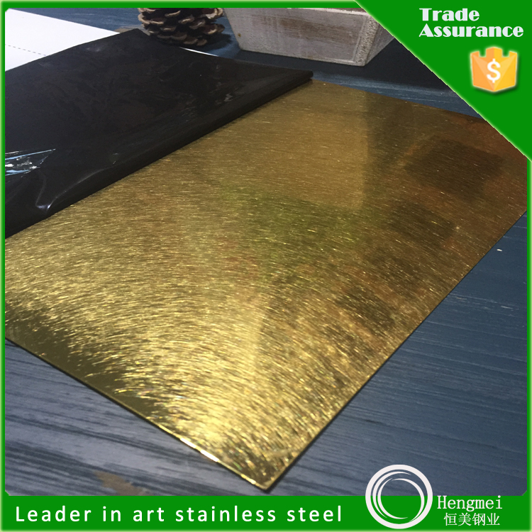 316 Pvd coating stainless steel sheet for Architecture decoration
