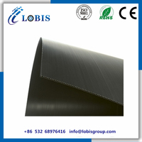 Poly PP Material Black Color Corex Plastic Sheet