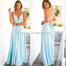 Sexy women convertible long dress women multi-way maxi dress