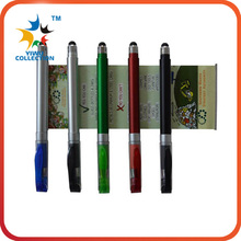 wholesale pen,clear barrel pens,advertising 3 color banner ball pen