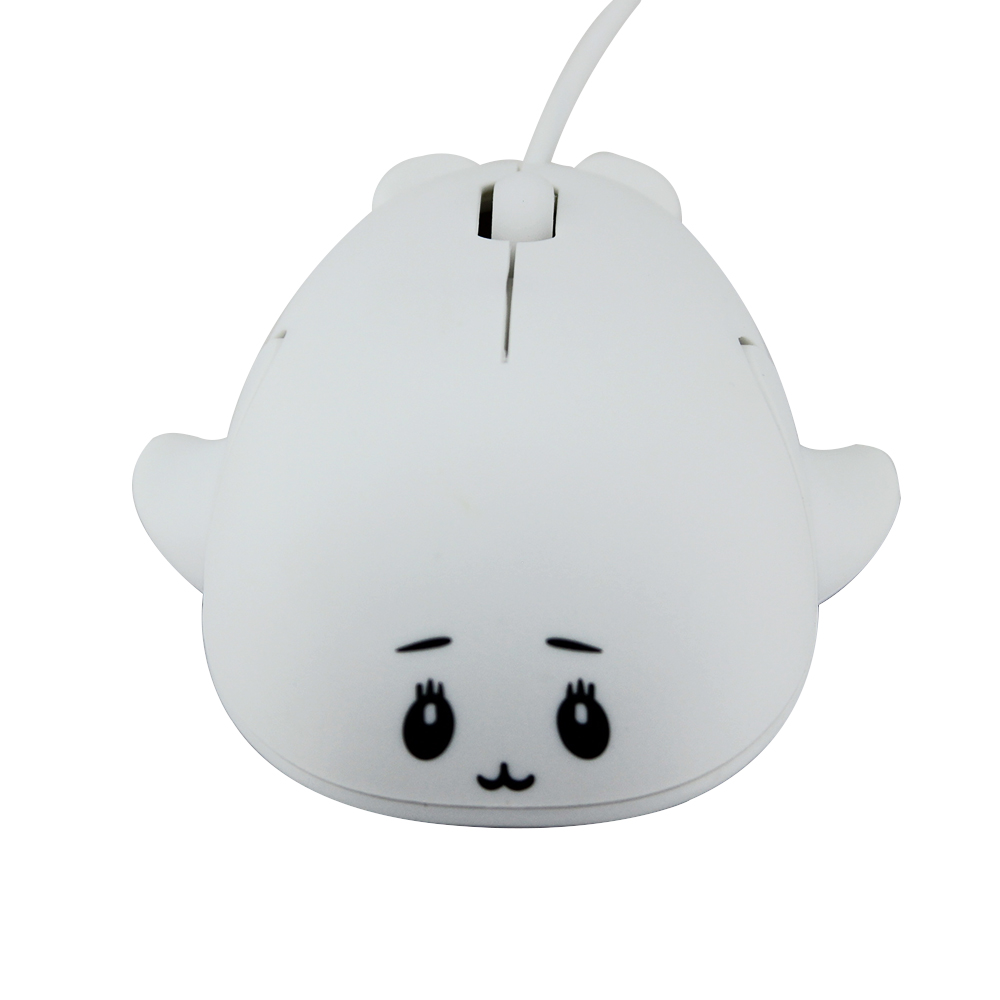 Cartoon Mause dolphin shaped Wired Mouse 3D MINI gift mouse Mice 1600 DPI for Desktop Laptop PC
