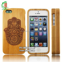 Unique Wood Bamboo Case For Iphone 5 With Appealing Picture From Chinese Wholesale
