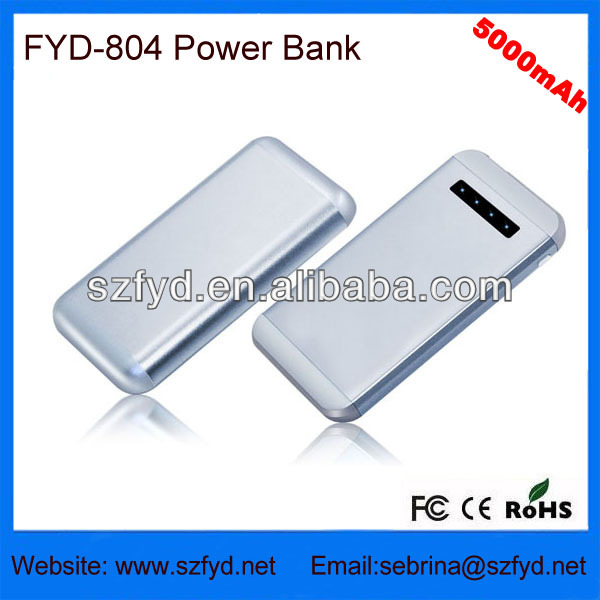 oem manufacture made in china powerbank 5000mah